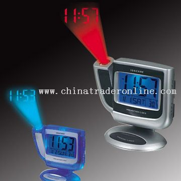 Desktop Projection Alarm Clock With Thermometer