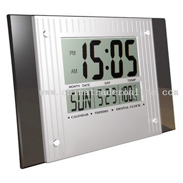 LCD Digital Clock