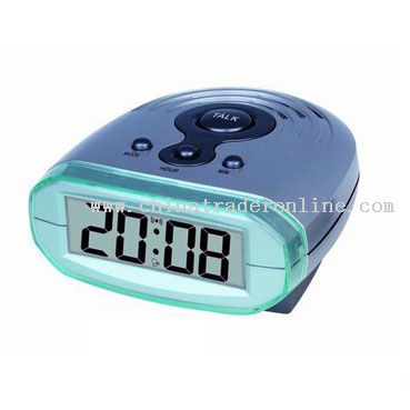 LCD Talking Clock