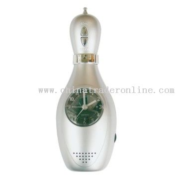 Bowling Clock With FM Radio from China