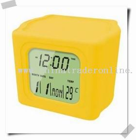 Colourful clock from China