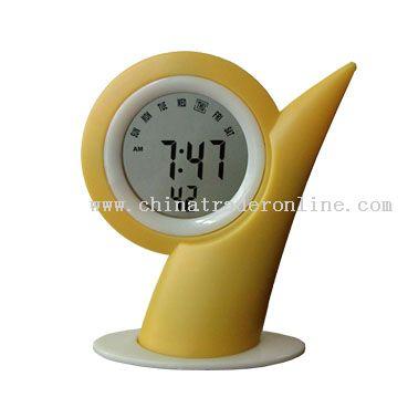 LCD Clock With Calendar