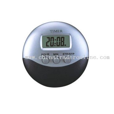 LCD Clock for Kitchen