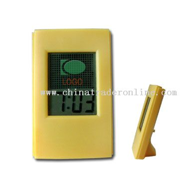 LCD Clock with Count Down Timer from China