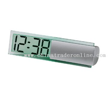 Transparent LCD Screen Clock from China