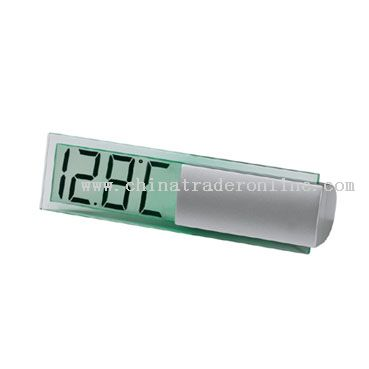 Transparent LCD Screen General Thermometer Display Clock from China
