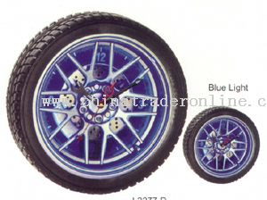 Alloy Wheel Clock