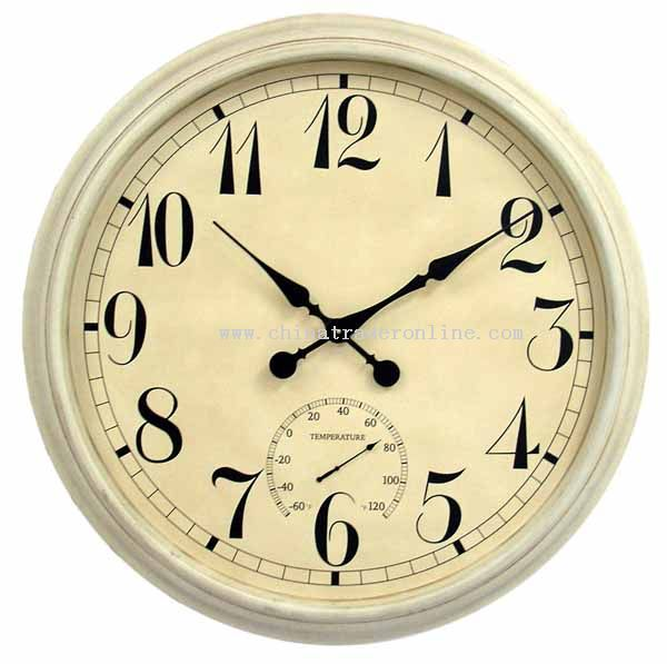 36 inch Metal wall clock