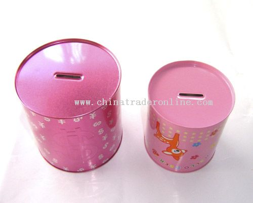 Metal piggy bank for Mini tin mailboxes for crafts