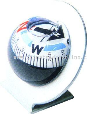 Adhesive Car Compass Ball from China