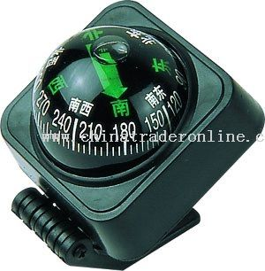Adhesive Car Compass Ball from China