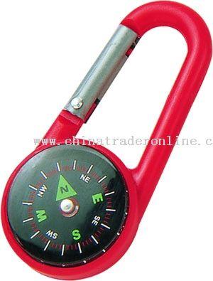 Compass Plastic Carabiner