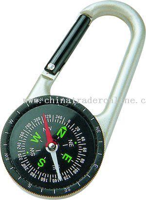 Compass Zinc-Alloy Carabiner