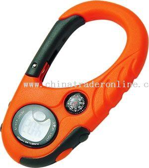 Watch Compass Plastic Carabiner