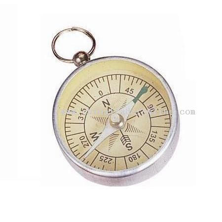 Aluminum Compass Keychain from China