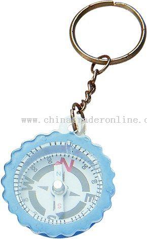 Compass Key Chain