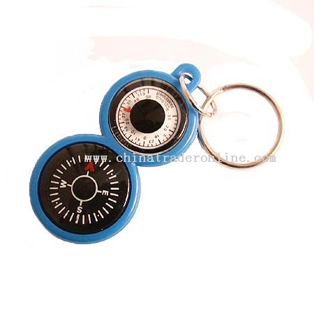 KEY RING(KEY CHAIN,COMPASS,THERMOMETER)