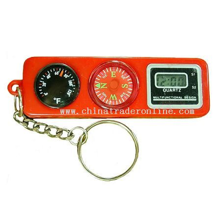 KEY RING(THERMOMETER,COMPASS,KEY CHAIN)