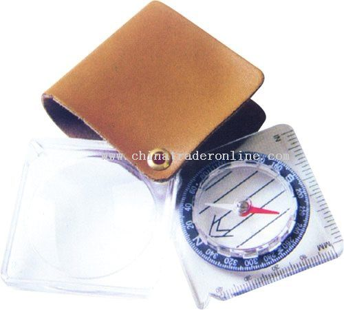 Ruler Magnifier Compass from China