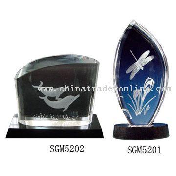 3D Laser Crystals