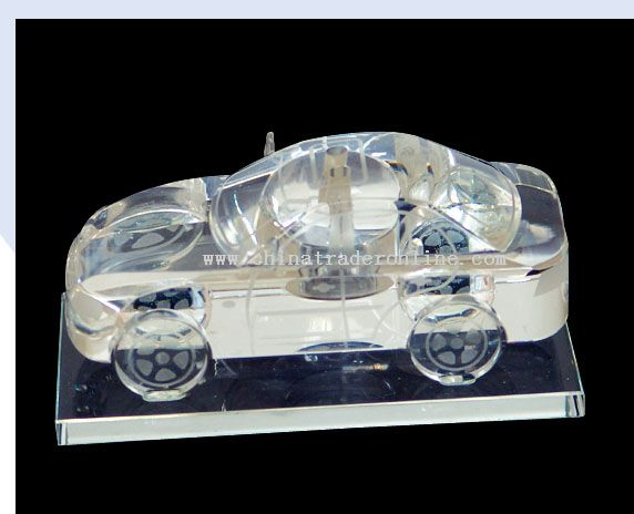 Automobile crystal