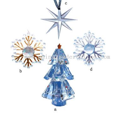 Crystal Christmas Products
