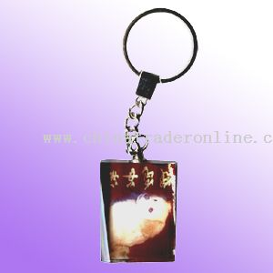 COLOR PRINTING KEYCHAIN
