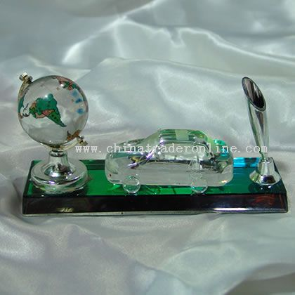 Crystal Pen holder Office Supplies