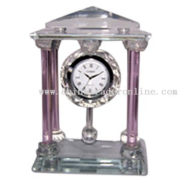 Crystal Rome Clock