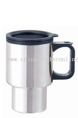 Outer shell Stainless & Inner Plastic Auto Mug