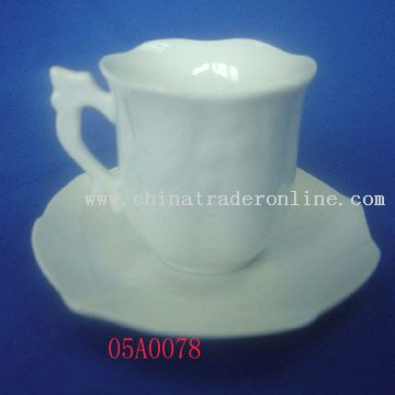 Cup and Saucer from China