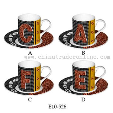 Coffee Cups & Saucers from China