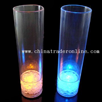 Flashing Juice Glasses
