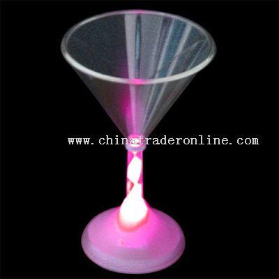 Flashing Martini cup