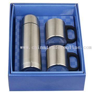 Vacuum Flask Gift Set