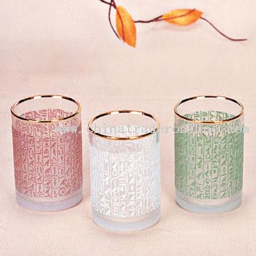 Glass Drinking Cups from China