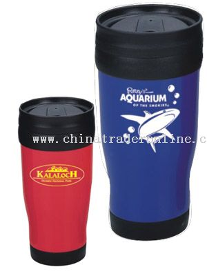 Double Wall Plastic Mug