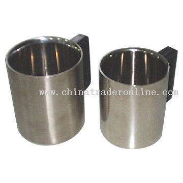 Stainless Steel Two-Ply Cups