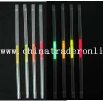 glow drinking straws