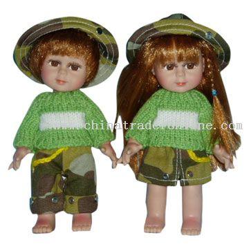 12inch Boy and Girl Vinyl Dolls