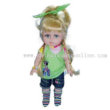 Cheerleader Girl Vinyl Dolls