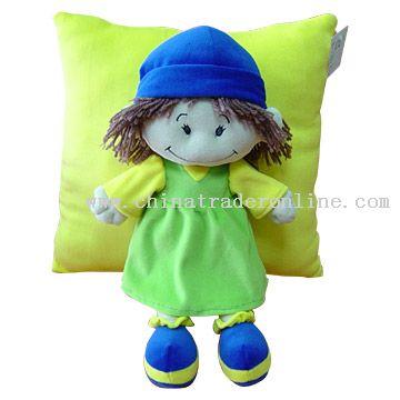 Doll Cushion from China