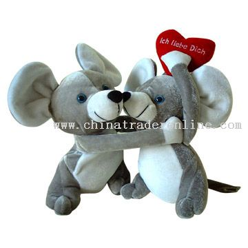 Kissing Toy Mice