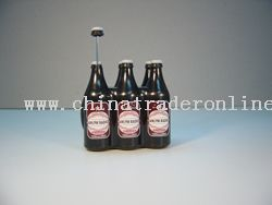 6- bottle beer AM/FM radio