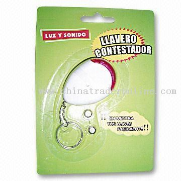 Battery-operated Key Finder with RoHS Certification