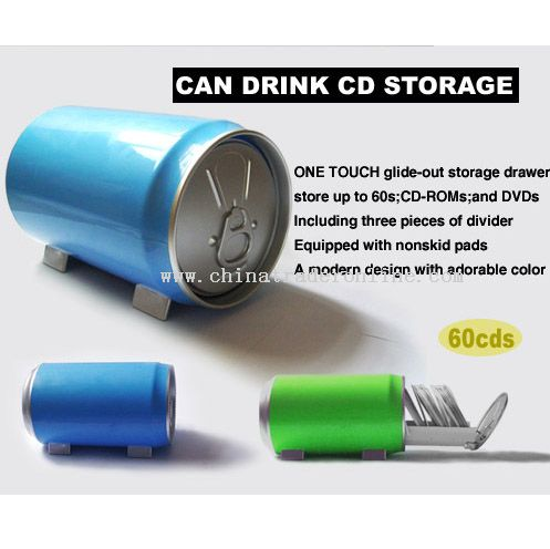Can Drink CD/VCD/DVD Storage