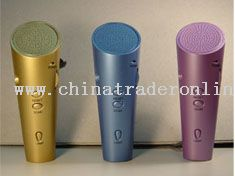 FM torch radio for ice-cream promotional gifts