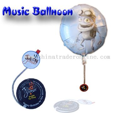 Musical Balloon from China