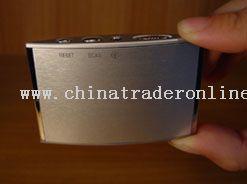 mini king card aluminum radio