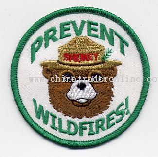 Embroidery Emblem Bear